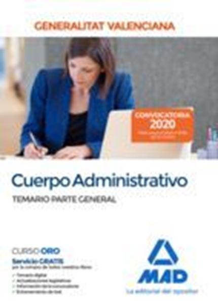 Imagen de Temario Parte General Cuerpo Administrativo Generalitat Valenciana, 2020
