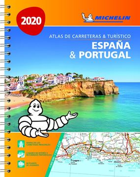 Atlas de Carreteras & Turístico de España & Portugal 2020 (formato A-4)