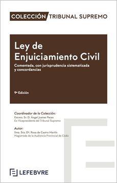 """Imagen de Ley de Enjuiciamiento Civil Comentada 9ª Edición, 2020 """"Comentada, con jurisprudencia sistematizada y concordancias"""""""