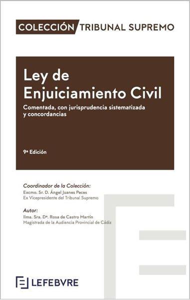 """Imagen de Ley de Enjuiciamiento Civil 9ª ed, 2020 """"Comentada, con jurisprudencia sistematizada y concordancias"""""""
