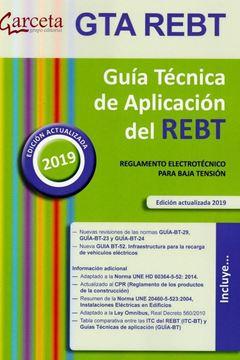 "Guía Técnica de Aplicación del REBT, 2019 ""Reglamento electrotécnico para baja tensión"""