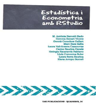 Estadística i econometria amb RStudio