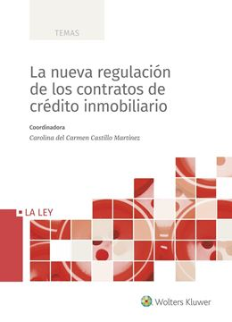 Nueva regulación de los contratos de crédito inmobiliario, La, 2020
