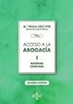 "Acceso a la abogacía ""Volumen I. Materias comunes"""