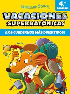 """Vacaciones Superratónicas 4º Primaria """"¡Los cuadernos más divertidos!"""""""