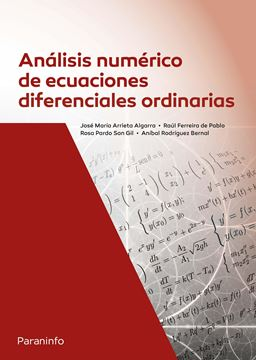 Análisis numérico de ecuaciones diferenciales ordinarias