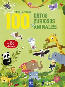 """100 datos curiosos de animales """"Pega y aprende"""""""