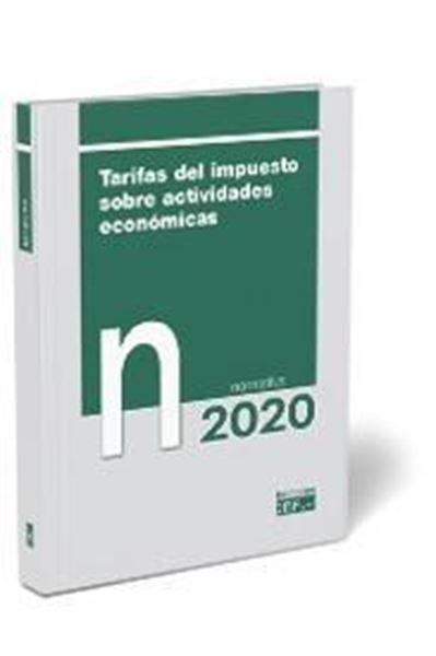 Tarifas sobre el impuesto de actividades económicas, 2020