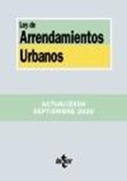 Ley de Arrendamientos Urbanos, 8ª ed, 2020