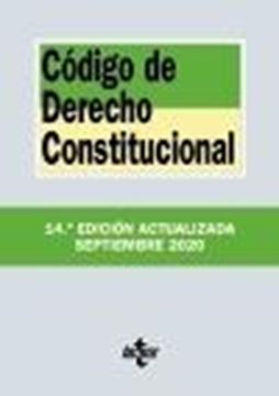 Código de Derecho Constitucional, 14ª ed, 2020