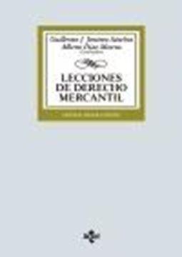 Lecciones de Derecho Mercantil, 23ª ed, 2020