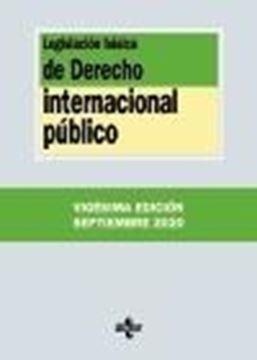 Legislación básica de Derecho Internacional público, 20ª ed, 2020