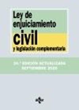 Ley de Enjuiciamiento Civil y legislación complementaria, 24ª ed, 2020