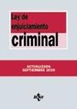 Ley de Enjuiciamiento Criminal, 4ª ed, 2020