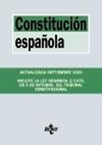 """Constitución Española, 24ª ed, 2020 """"Incluye la Ley Orgánica 2/1979, de 3 de Octubre, del Tribunal Constitucional"""""""