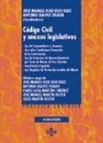 """Código Civil y anexos legislativos, 8ª ed, 2020 """"Ley de Consumidores y Usuarios. Ley sobre Condiciones Generales de la Co"""""""
