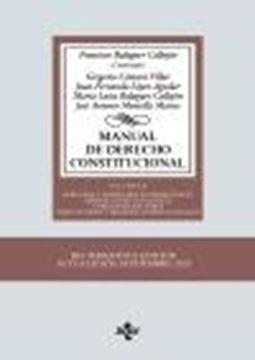 """Manual de Derecho Constitucional, 15ª ed, 2020 """"Vol. II: Derechos y libertades fundamentales. Deberes constitucionales y principios rectores institucion"""""""