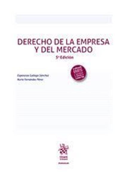 Imagen de Derecho de la Empresa y Del Mercado, 5ª ed, 2020