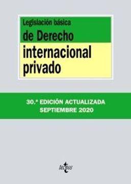 Imagen de Legislación básica de Derecho Internacional Privado, 30ª ed, 2020