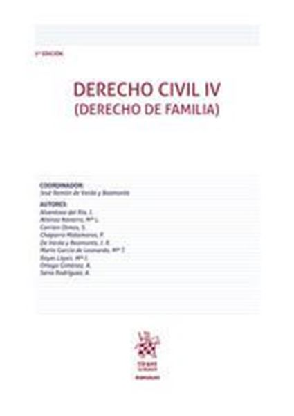 Imagen de Derecho Civil IV (Derecho de Familia), 3ª ed, 2020