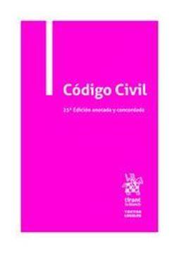 Imagen de Código Civil, 25ª ed, 2020