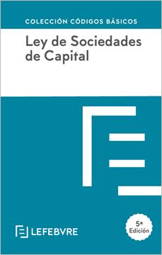 Imagen de Ley de Sociedades de Capital, 5ª ed, 2020