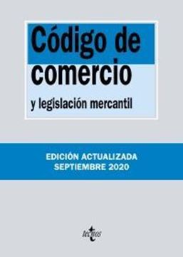 """Imagen de Código de Comercio, 37ª ed, 2020 """"y legislación mercantil"""""""