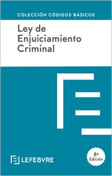 Imagen de Ley de Enjuiciamiento Criminal, 8ªed. 2020