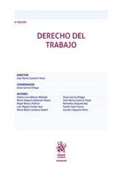 Imagen de Derecho del Trabajo, 8ª ed, 2020