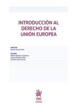 Imagen de Introducción al Derecho de la Unión Europea, 1ª ed, 2020