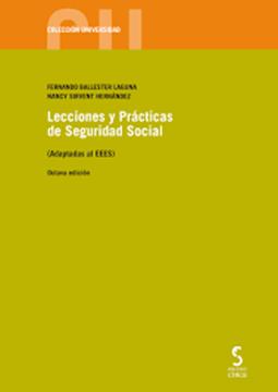 """Imagen de Lecciones y Prácticas de Seguridad Social , 8º ed. 2020 """"(Adaptadas al EEES)"""""""