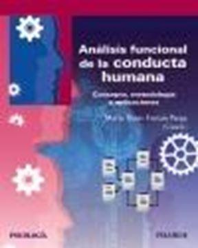 """Análisis funcional de la conducta humana, 2020 """"Concepto, metodología y aplicaciones"""""""
