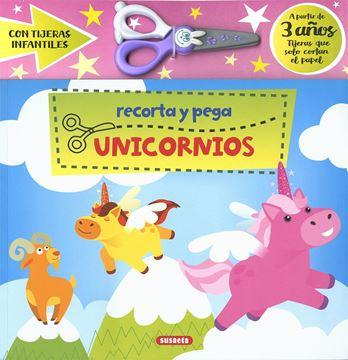 Recorta y pega unicornios