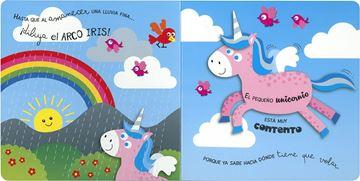 El unicornio aprende a volar