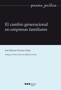 Cambio generacional en empresas familiares, El
