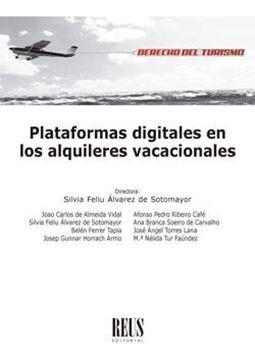 Plataformas digitales en los alquileres vacacionales, 2020