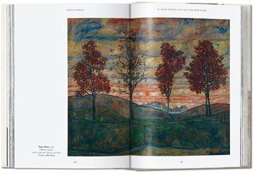 Egon Schiele. Las pinturas