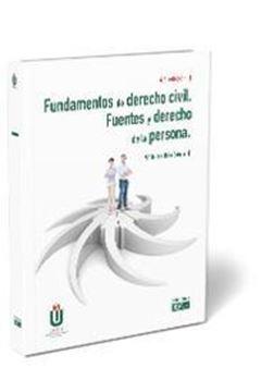 Fundamentos de derecho civil. Fuentes y derecho de la persona, 6ª ed, 2020