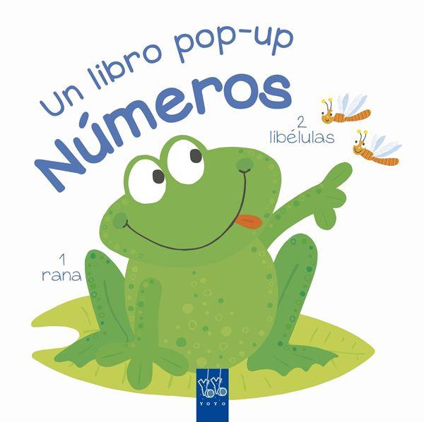 """Números """"Un libro pop-up"""""""
