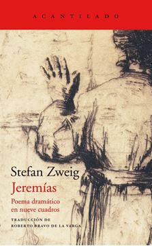 """Jeremías """"Poema dramático en nueve cuadros"""""""