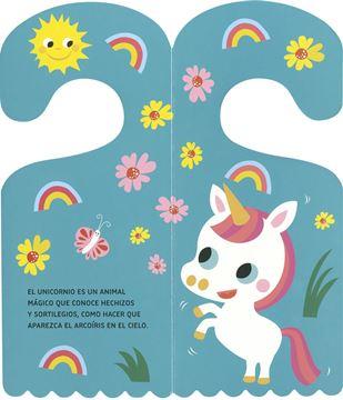 """Unicornio """"Libro-Colgador"""""""