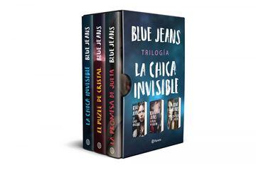 "Estuche trilogía La chica invisible, 2020 ""La chica invisible + El puzle de cristal + La promesa de Julia"""