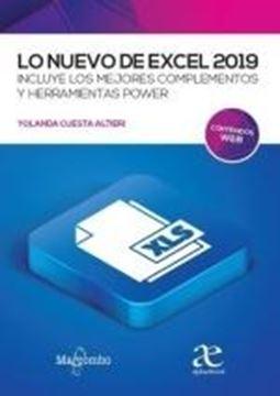 """Lo nuevo de Excell 2019 """"Incluye los mejores complementos y herramientas power"""""""