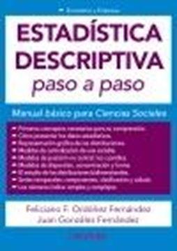 """Estadística descriptiva paso a paso, 2021 """"Manual básico para Ciencias Sociales"""""""