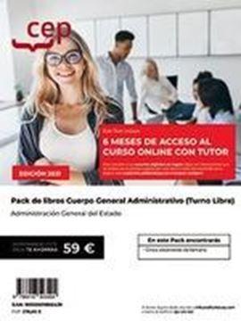 """Pack Cuerpo General Administrativo de la Administración General del Estado, 2021 """"Turno libre"""""""