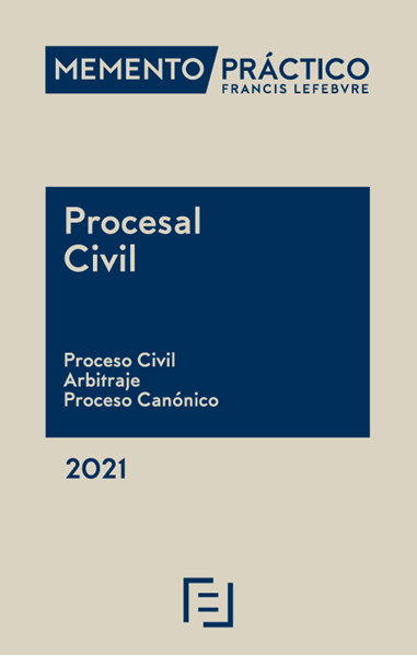 "Imagen de Memento Práctico Procesal Civil 2021 ""Proceso Civil, Arbitraje, Proceso Canónico"""