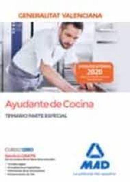 Imagen de Temario parte especial Ayudante de cocina Generalitat Valenciana, 2020