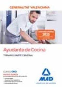 Imagen de Temario parte general Ayudante de cocina Generalitat Valenciana, 2020