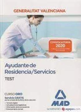 Imagen de Test Ayudante de Residencia/Servicios de la Administración de la Generalitat Valenciana, 2020