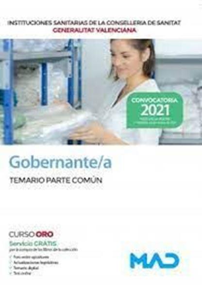 """Imagen de Temario parte común Gobernante/a de las Instituciones Sanitarias de la Conselleria Sanitat, 2021 """"Generalitat Valenciana"""""""